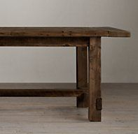 farmhouse salvaged wood rectangular extension tables salvaged restoration hardware 72 inch extends
