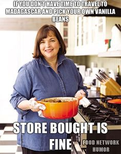 Food Network humor Ina Garten can be a snob sometimes! But she's got great recipes! haha i cant stand her Food Network Humor, Food Network Recipes, Food Humor, Funny Food, National Sandwich Day, Just In Case, Just For You, Haha Funny, Funny Stuff
