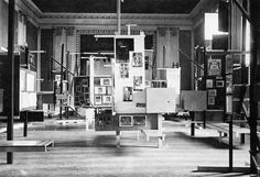 Frederick Kiesler, International Exhibition of New Theater Techniques, Vienne, 1924