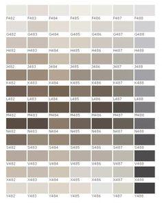 Cool Color Palette, Neutral Paint Colors, Colour Pallete, Colour Schemes, Pantone 2020, Loft Style, Hallway Decorating, Kitchen Paint, Minimalist Home