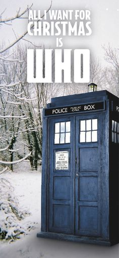 I don't want a lot for Christmas there is just one thing I need. Don't care a bout the presents underneath the Christmas tree. I just want Who to come on, more than you could ever you know. Moffat, make my wish come true! All I want for Christmas is Who!
