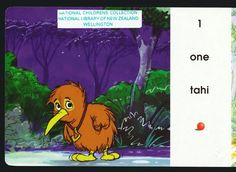 "Digital children's books for free!  This one is ""Kapai Counts to 10"" (Maori and English)"
