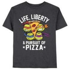 Teenage Mutant Ninja Turtles Liberty Pizza Tee - Boys 8-20
