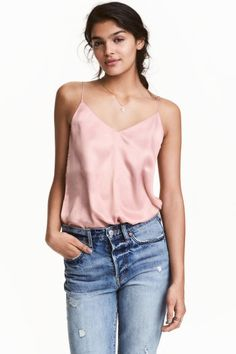 V-neck strappy top | H&M