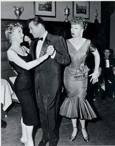 """""""I Love Lucy"""" with Barbara Eden, Episode title 'Country Club Dance'"""