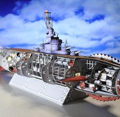 B11_2 Japanese Robot, Model Ships, Paper Models, Scale Models, Sailing, Godzilla, Nifty, Monsters, Studios