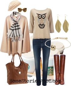 21 Outfits for Fall {fall fashion}  Beth has put togther some great color, style, and texture ideas here! Great tool!