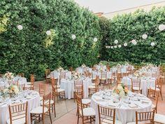 Romantic Garden Fresh California Wedding - MODwedding