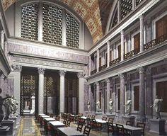 biblioteca de Trajano
