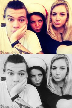 Harry, Anne, and Gemma