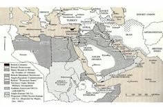 Influences in middle east