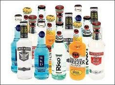 Alcopops.