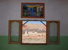 At a Berber home, Morocco