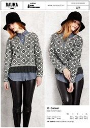 227R - 13 Genser Knitting, Blouse, Long Sleeve, Sleeves, Tops, Women, Fashion, Threading, Blouse Band