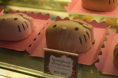 """Chocolate Mousse Cake - Hello Kitty Cafe, Seoul, Korea """"I would advocate that chocolate be covered by health insurance, but that is admittedly a very French public policy perspective."""" ― Mireille..."""