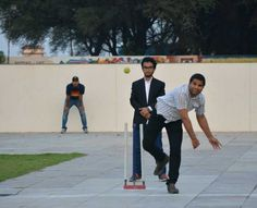 Senior Vs Trainers Cricket competition
