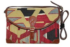 """Height of bag with leather robe: 53 cm (21"""")Height of bag body only: 24 cm (9.5 inch)Width: 32 cm (1'1 inch)Bottom size: 8 cm (3.2 inch)Material: Handwoven Kilim & %100 Leather"""