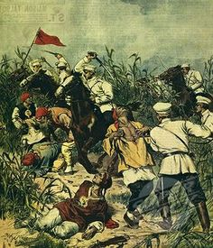 Foreign troops engaging the Chinese Boxer forces.  By 1900, the Qing dynasty, which had ruled China for more than two centuries, was crumbling and Chinese culture was under assault by powerful and unfamiliar religious and secular culture.
