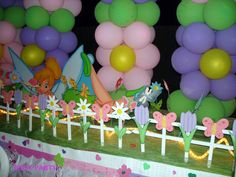 Kid's Birthday Party Decoration - Great for any fairy theme or garden themed parties