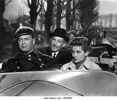 movie, 'Me and the Colonel', USA 1958, director: Peter Glenville, scene with: Curd Juergens, Danny Kaye, - Stock Image