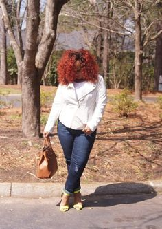 Plus Size Blogger Marie Denee The Curvy Fashionista in Addition Elle #TCFStyle #PSbloggers