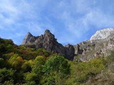 Picos de Europa - Blick auf die Berge