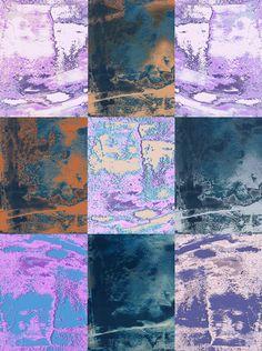 """Impression grand format sur support textile polyester - aspect soyeux - Peinture de l'original en """"laque ancienne"""". Tension sur châssis bois.  130x97cm"""