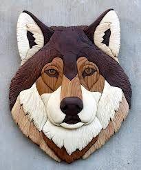 wolf carving by bill fugerer