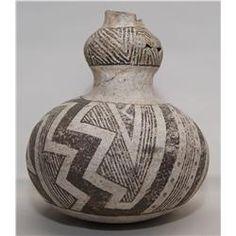 Anasazi Pottery Canteen