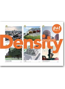Density projects contains 36 ideas on collective housing that are committed to increasing density. They are projects that propose savings in land use and, consequently, a more sustainable environment.  The design strategy of the authors, the implementation in the context and the development of the housing typologies are analysed and compared by themes, following the path begun by the a+t series dedicated to Density.