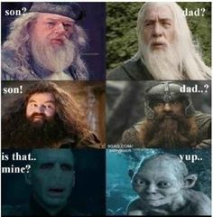This Harry Potter crossover.