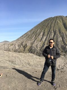 Near the crater of Mount Bromo, where the surrounding area hold a mystical energy field.. The atmosphere here both makes us close to the nature yet scary of what potential harm it can do.. Awe for nature