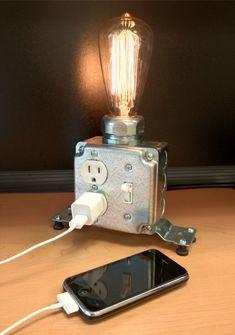Lampe de table ou de bureau par MartyBelkDesigns sur Etsy