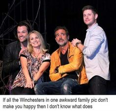 Well, not ALL the winchesters..  Looks like they forgot Adam. Again.