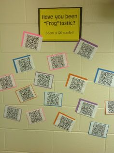 Technology theme - Awesome way to do rewards, small group activities, and much more!! Great website for using technology in the classroom.Transforming Teaching and Learning with iPads: Code Your Class with QR Codes