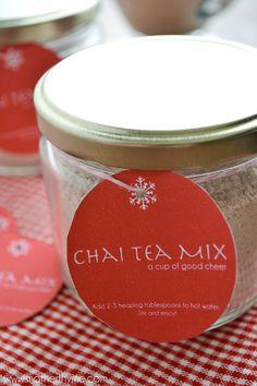 Chai Tea Mix - give the gift of Chai Tea this holiday season....