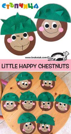 Dzieckiem bądź: Jesienne dekoracje - Fall Crafts For Toddlers Fall Crafts For Toddlers, Autumn Activities For Kids, Toddler Crafts, Preschool Crafts, Children Activities, Fall Paper Crafts, Diy Arts And Crafts, Spring Crafts, Mushroom Crafts