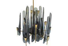 Lucite Max Ingrand-Style Chandelier on OneKingsLane.com