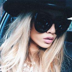 Oversized Xtra Large Round Cat Eye Wolves Foxes Style Women Sunglasses Bohemian #FashionDeals #Round