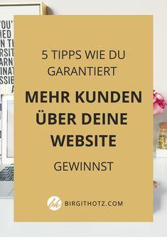 WEBSITE KUNDEN GEWINNEN Affiliate Marketing, E-mail Marketing, Digital Art Tutorial, Social Media, Business, Seo, Inspiration, Trends, Helpful Tips