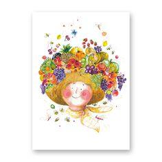 greetingcard 'fruity hat