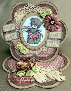 Dutch Doobadoo Shape Art bloem