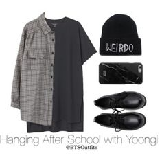 Hanging After School with Yoongi