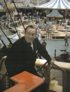 Walt Disney in Fantasyland