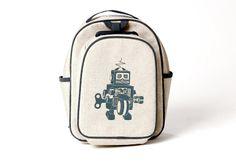 Robot toddler backpack