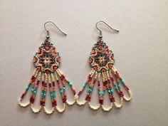 Handmade+Native+American+Beaded+Earrings+by+PeacefulBeadwork,+$37.00
