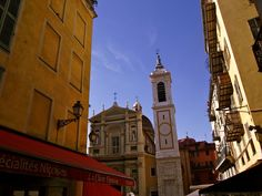 A little square in Old Town, Nice #nice #france #riviera