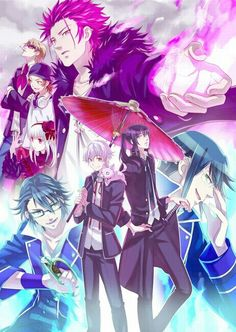 K anime << on my to watch list. can someone rate this for me in the comments pls? thanks XD