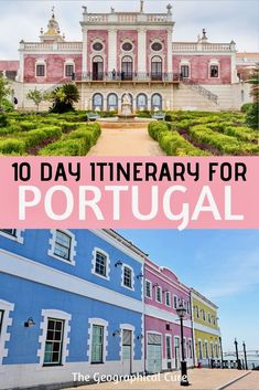 Heading to beautiful Portugal or intrigued by the sun drenched country? If so, I have the perfect itinerary for spending 10 epic days in Portugal. Portugal dazzles with history, medieval castles…More Portugal Vacation, Portugal Travel Guide, Europe Travel Guide, Europe Destinations, Travel Guides, Portugal Trip, Lisbon Portugal, Best Places In Portugal, Visit Portugal