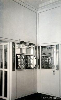 Flöge - Reception room, Design: Koloman Moser, 1904